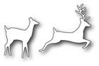 **XMAS* Poppystamps - Forest Deer