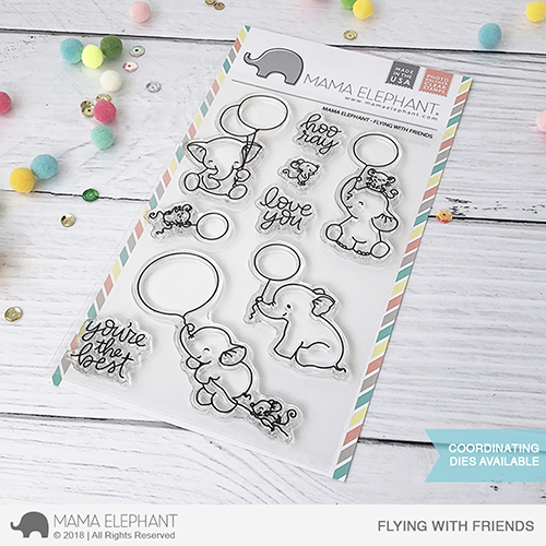 *PRE-ORDER**NEW* - Mama Elephant - FLYING WITH FRIENDS