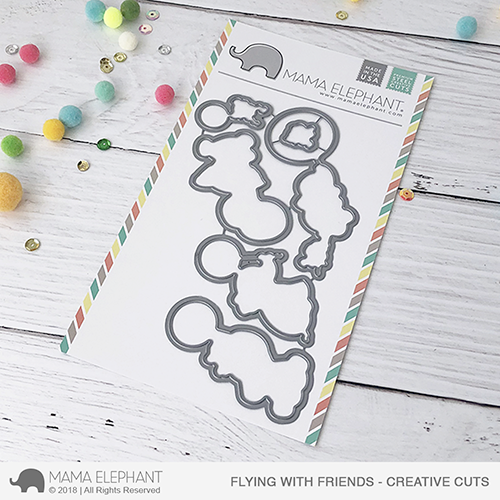 *PRE-ORDER**NEW* - Mama Elephant - Flying with Friends - Creative Cuts
