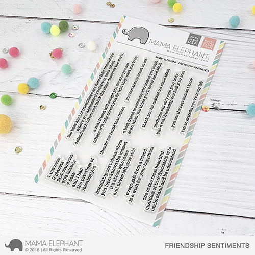*PRE-ORDER**NEW* - Mama Elephant - FRIENDSHIP SENTIMENTS