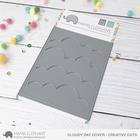 *PRE-ORDER**NEW* - Mama Elephant - Cloudy Day Cover - Creative Cuts