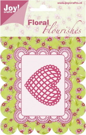 Joy! Crafts - Floral Flourishes - Heart