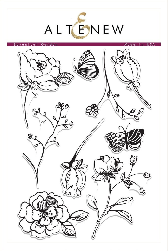Altenew - Botanical Garden Stamp Set