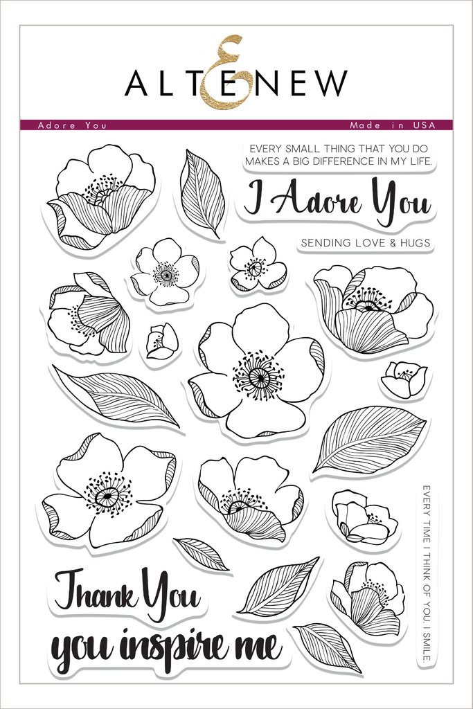 AlteNew - Adore You Stamp Set
