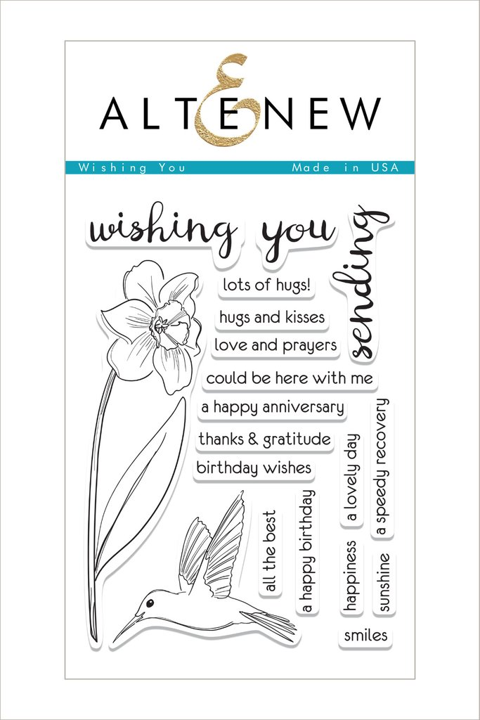 Altenew - Wishing You Stamp Set