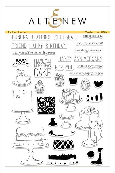 Altenew - Cake Love Stamp Set