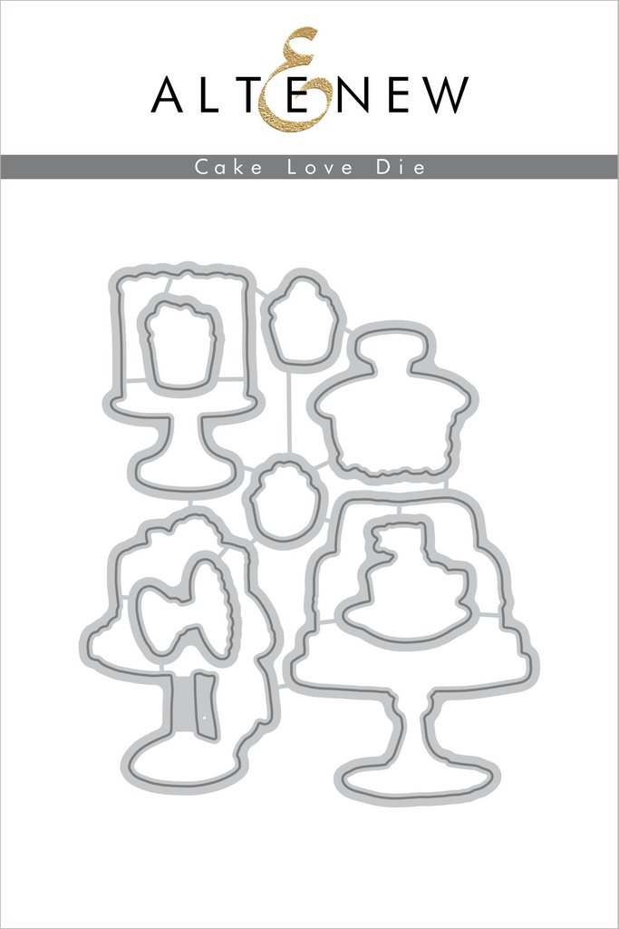 Altenew - Cake Love Die Set