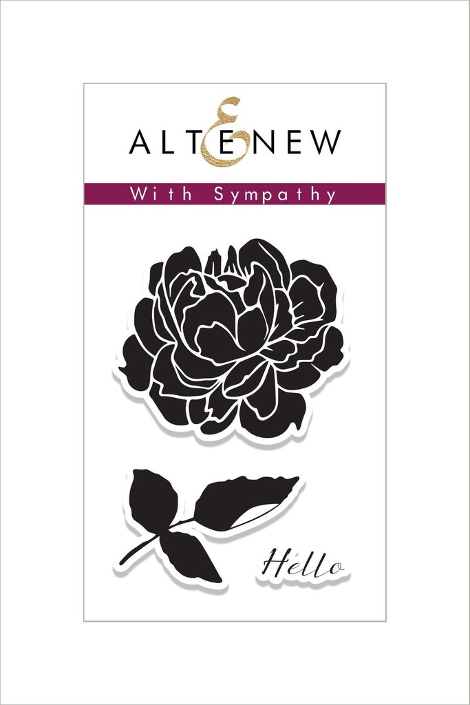 Altenew - With Sympathy Stamp Set