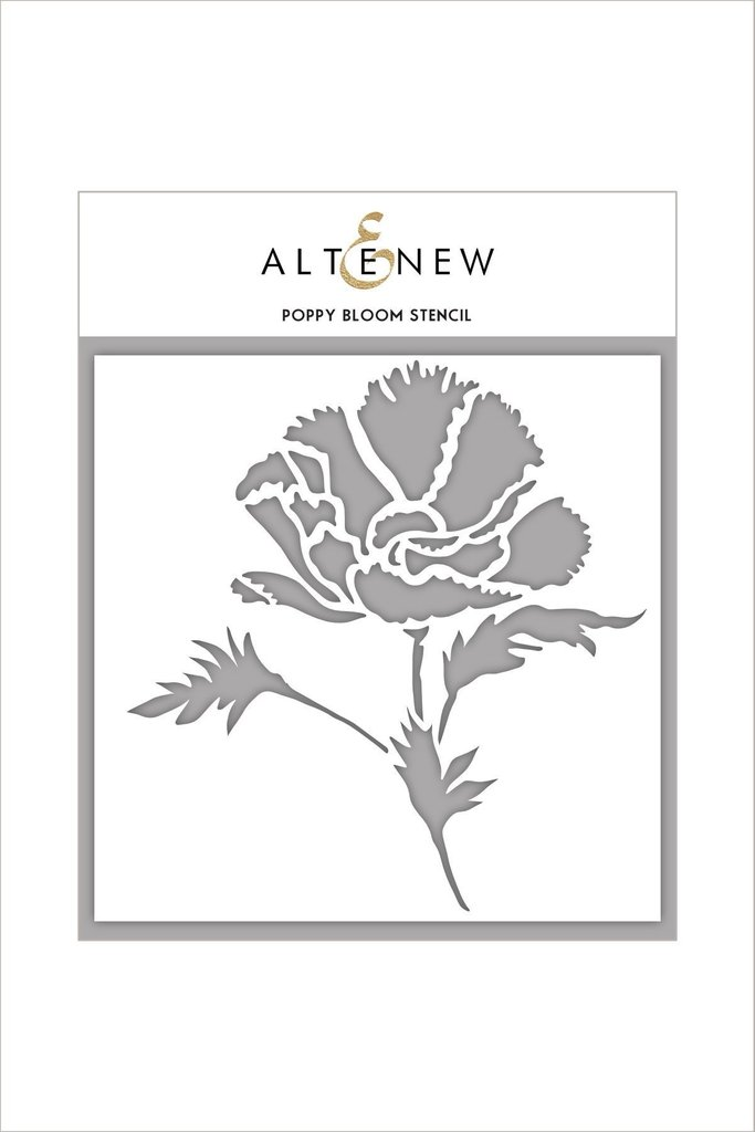 Altenew - Poppy Bloom Stencil