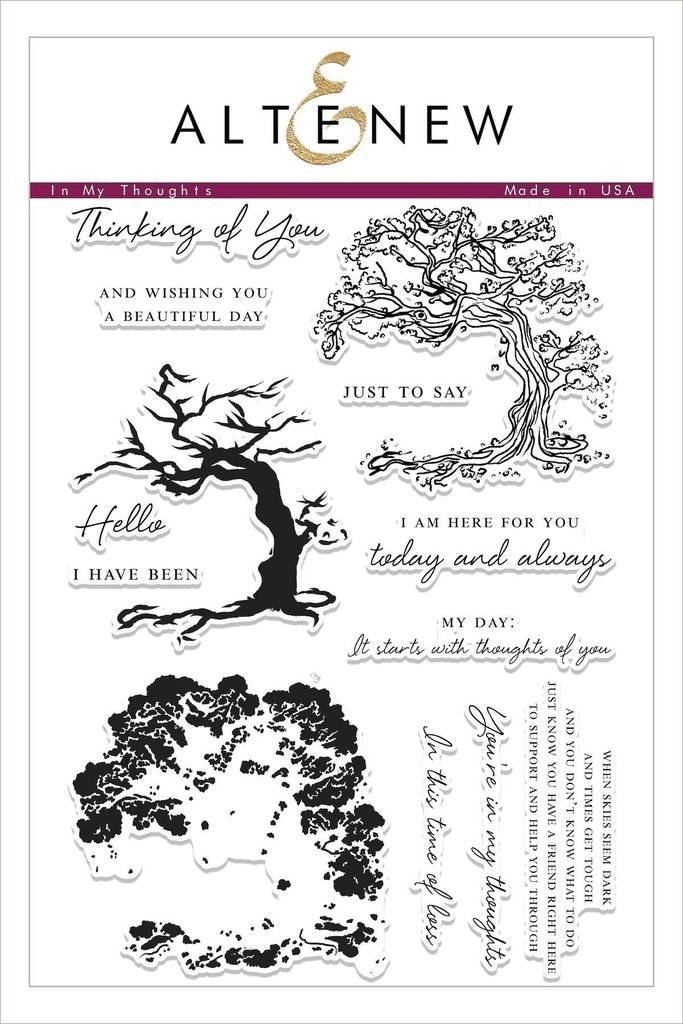 Altenew - In My Thoughts Stamp Set