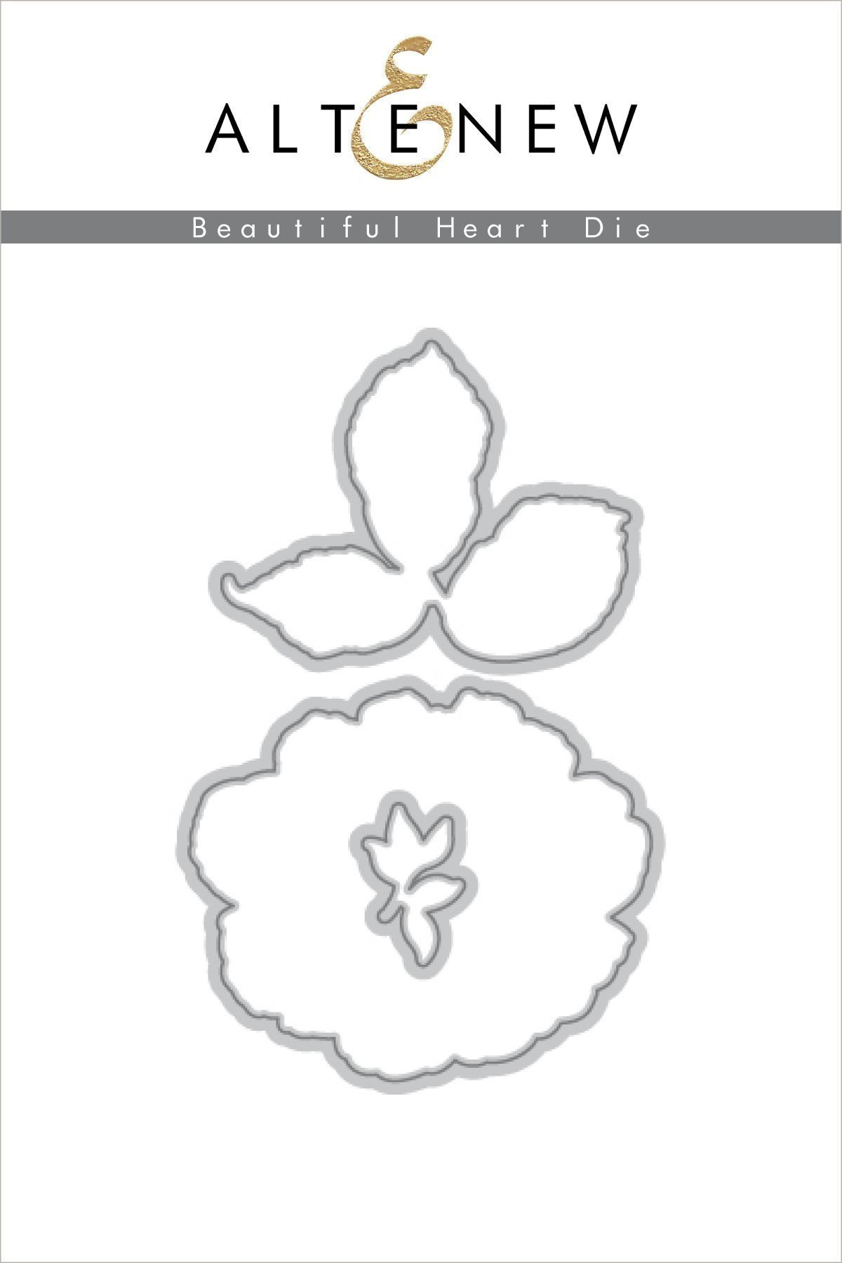 *NEW* - Altenew - Beautiful Heart Die Set