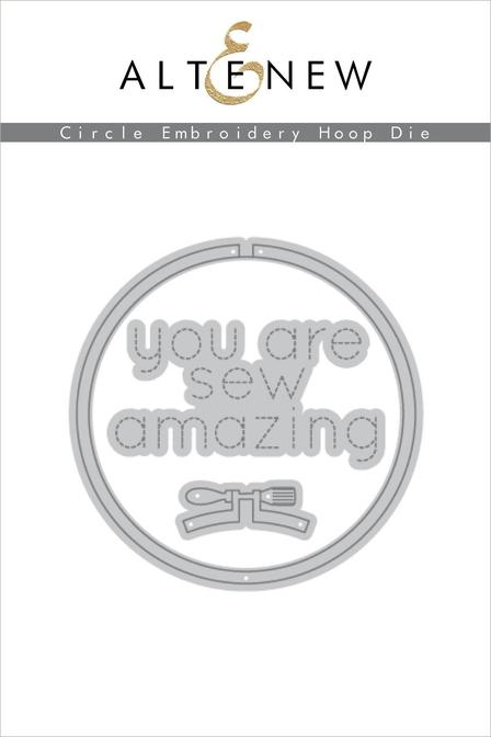 *NEW* - Altenew - Circle Embroidery Hoop Die Set