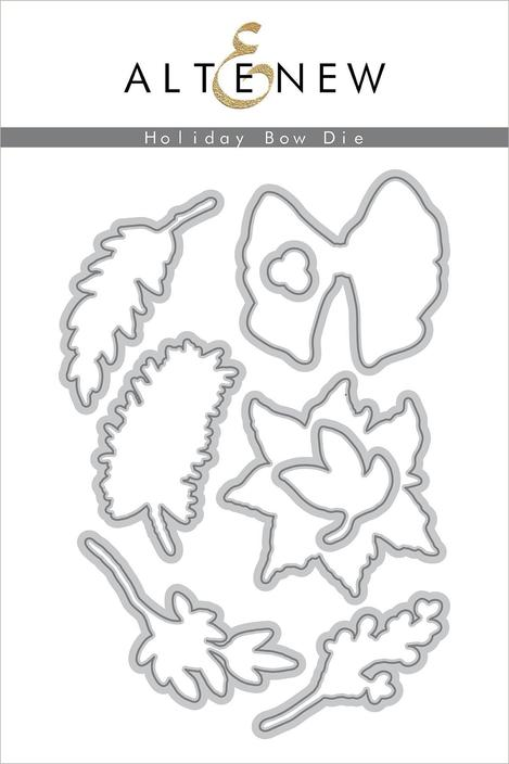 *NEW* - Altenew - Holiday Bow Die Set