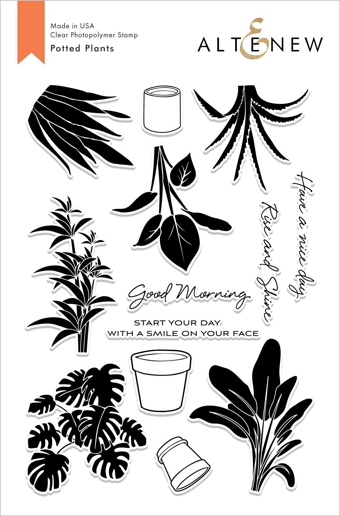 Altenew - Potted Plants Stamp Set