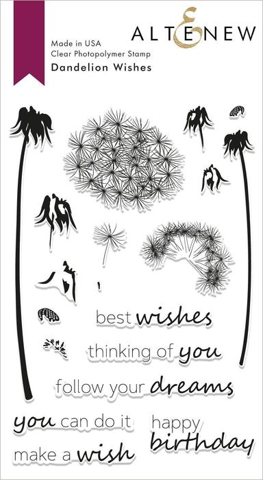 *NEW* - Altenew - Dandelion Wishes Stamp Set