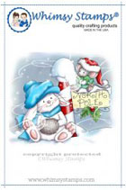Whimsy Stamps - 2 Christmas Tales at the North Pole - Crissy Armstrong Collection