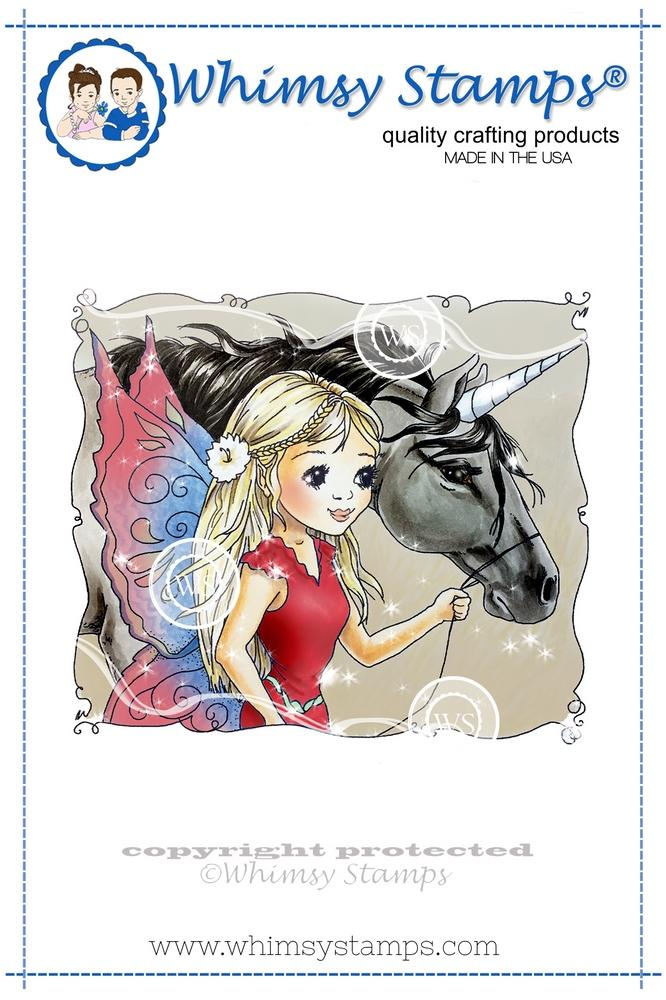 *PRE-ORDER* - Whimsy Stamps - Fairy and Unicorn Friends