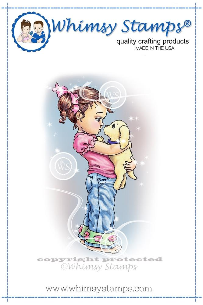 *NEW* - Whimsy Stamps - Nose to Nose