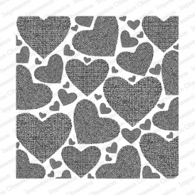 Impression Obsession- Textured Hearts