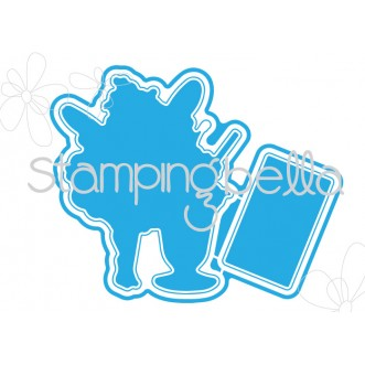 *SALE* Stamping Bella - Edna loves icecream Cut it out die
