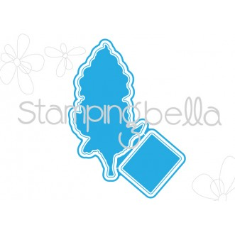 *SALE* Stamping Bella - Edna with a cupcake on top  Cut it out die