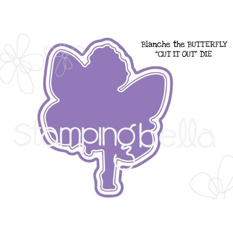 *PRE-ORDER - Stamping Bella - Blanche the butterfly CUT IT OUT DIE