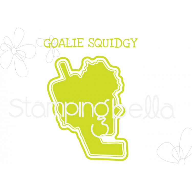 "*NEW* - Stamping Bella - Goalie Squidgy ""CUT IT OUT"" DIE"