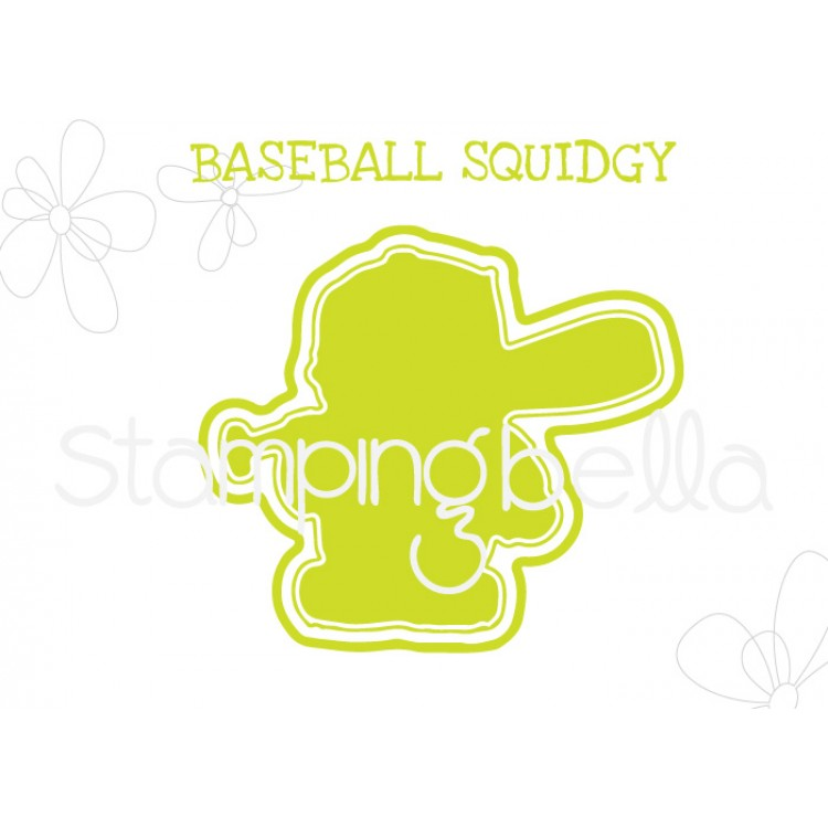 "*NEW* - Stamping Bella - Baseball Squidgy ""CUT IT OUT"" DIE"