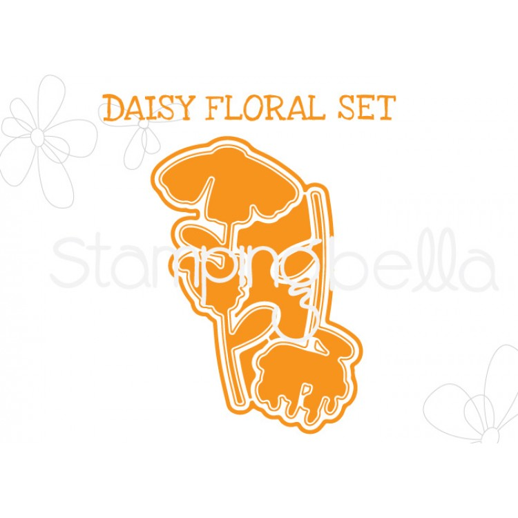 "*NEW* - Stamping Bella - Daisy Floral set ""CUT IT OUT"" DIE"