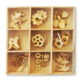 Crafts Too Wood Embellishments - Spring