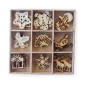 Crafts Too Wood Embellishments - Christmas