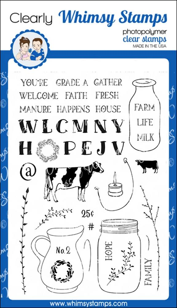 *PRE-ORDER* - Whimsy Stamps - Farmhouse Vases