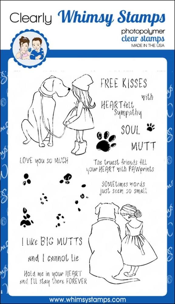 *NEW* - Whimsy Stamps - Soul Mutts