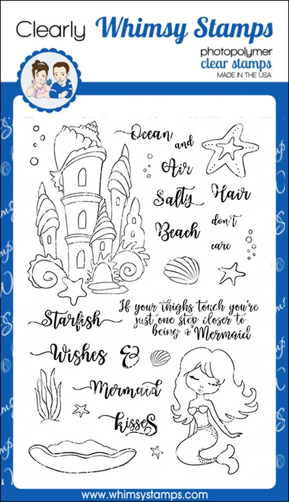 *NEW* - Whimsy Stamps - Salty Hair
