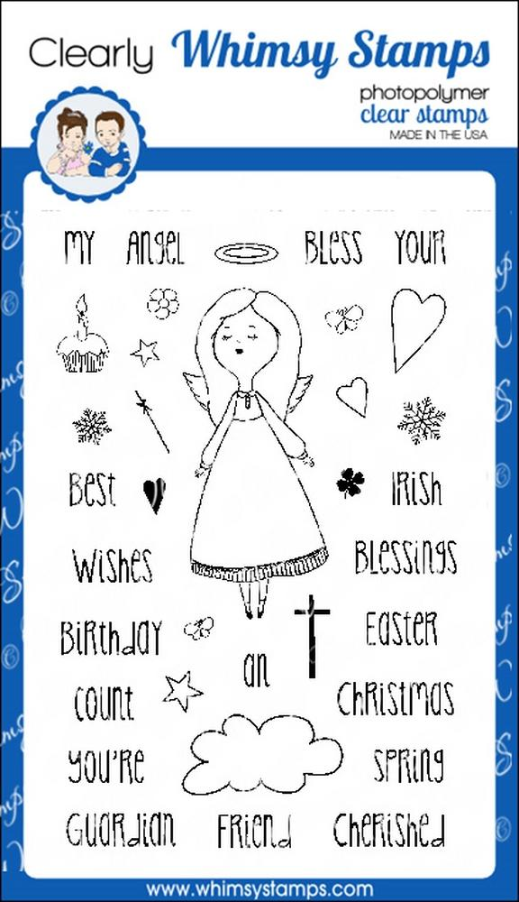 Whimsy Stamps - Angel Blessings