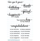 Your Next Stamp- Whatnot Sentiments Set Four
