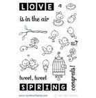 Your Next Stamp- Word Critters Collection - Spring Birds