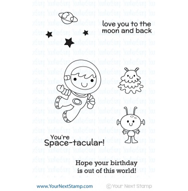 Your Next Stamp- Space Boy