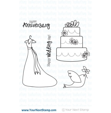 Your Next Stamp- Wedding Bliss