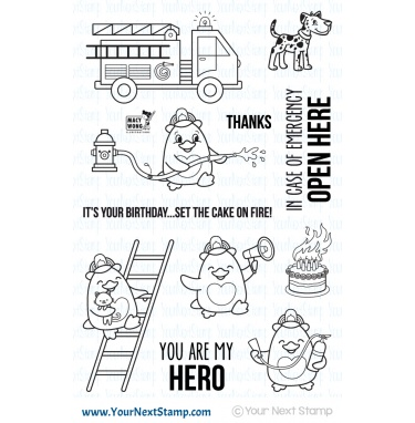 Your Next Stamp- Waddles - To The Rescue