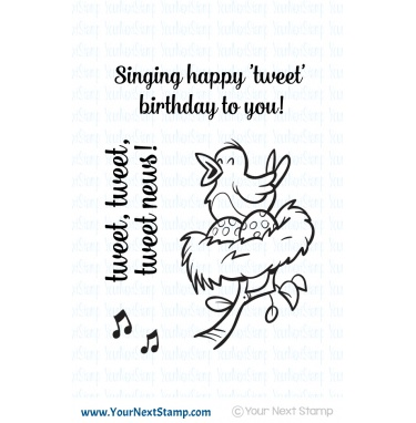 Your Next Stamp- Song Bird
