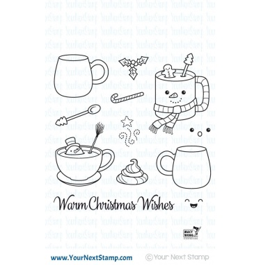Your Next Stamp- Warm Christmas Wishes