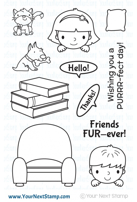 Your Next Stamp - Fur-ever Friends