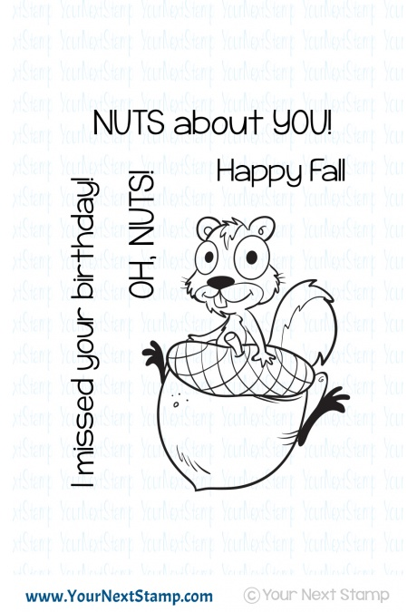 Your Next Stamp - Acorn Fall Fun