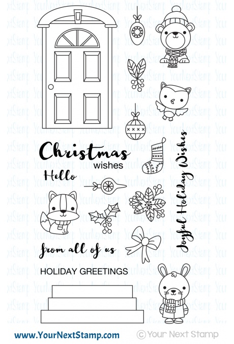 Your Next Stamp - Deck the Halls