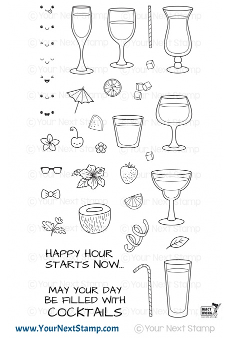 Your Next Stamp - Happy Hour