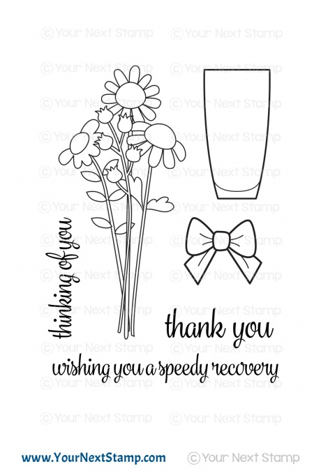 *NEW* - Your Next Stamp - Flower Bouquet