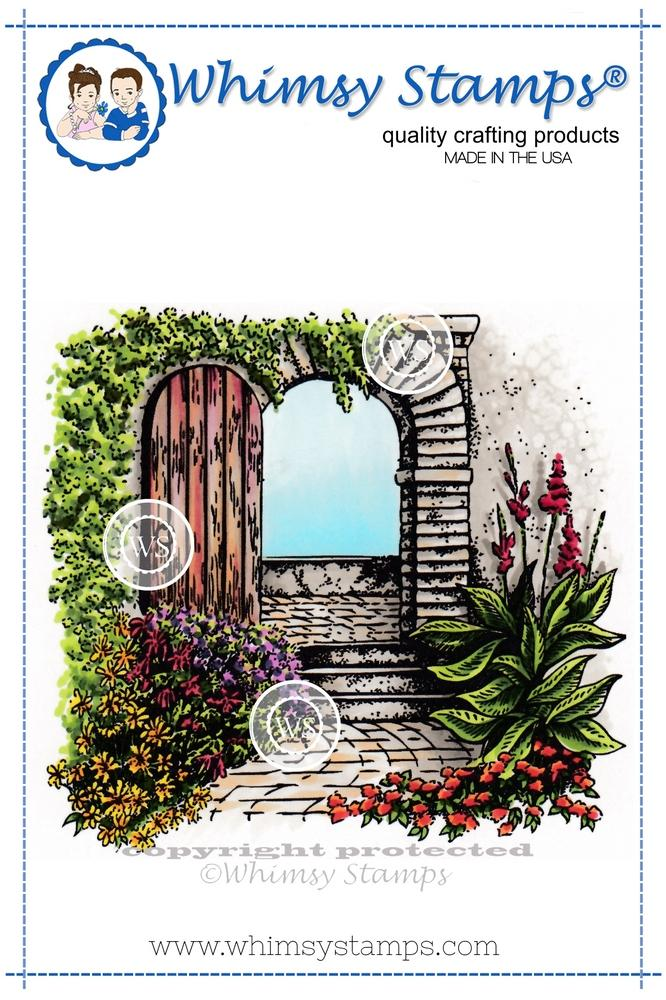 Whimsy Stamps - Garden Door