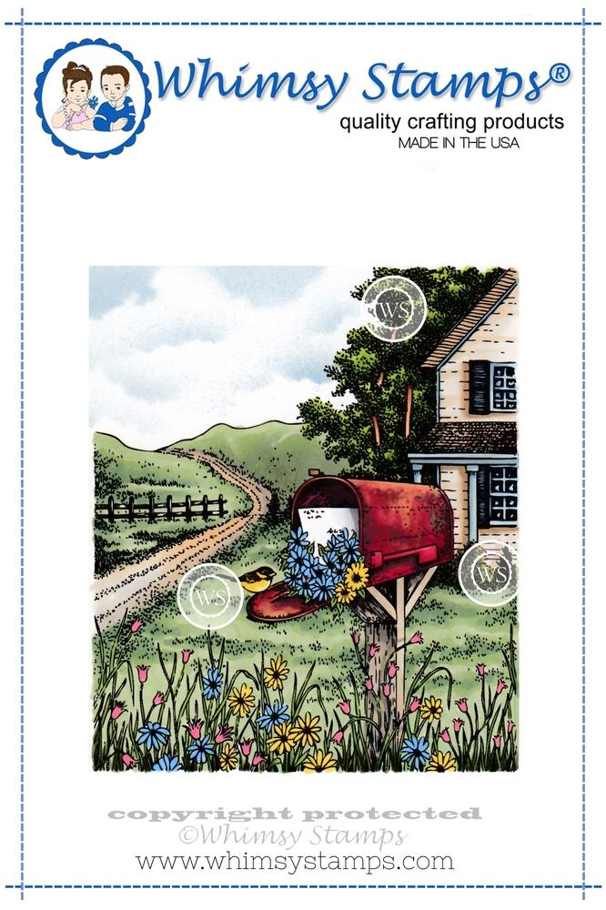 *NEW* - Whimsy Stamps - The Mailbox