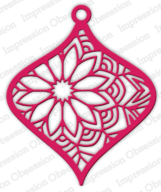**XMAS* Impression Obsession - Floral Ornament